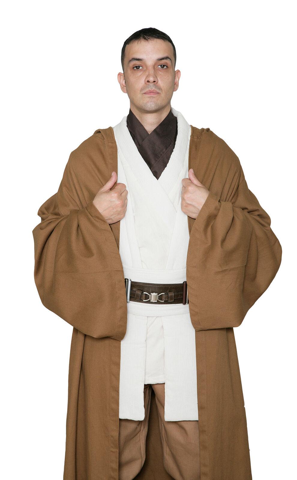 star wars jedi ritter robe obi hell braun hervorragende. Black Bedroom Furniture Sets. Home Design Ideas
