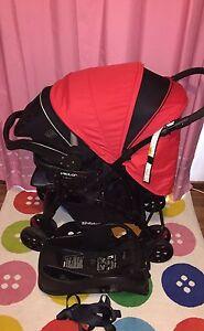 CHILDCARE VECTOR PRAM  STEELCRAFT INFANT CARRIER BABY CAPSULE EX COND Morphett Vale Morphett Vale Area Preview