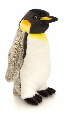 inguin Vogel Kuscheltier Stofftier grau - weiß, ca.30cm   (Pinguine Stofftiere)
