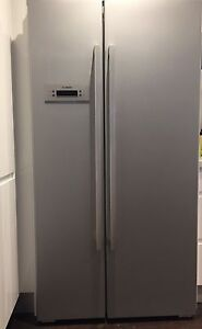 Bosch French (side by side) door fridge Narraweena Manly Area Preview
