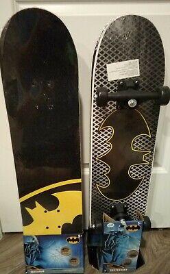 "DC Comics Kids Batman Skateboard Maple Deck Complete 31"" x 8"" Youth"
