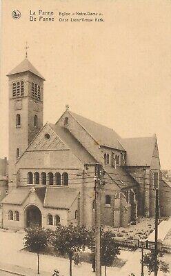 CPA - Belgique - De Panne - La Panne - Eglise Notre-Dame