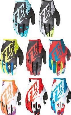 2017 Fly Racing Kinetic Gloves - MX ATV BMX Motocross Off-Road Dirt Bike Adult - Kinetic Race Gloves