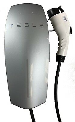 J-Wall-80 The Premium 80 amp Wall Mounted J1772 Electric Vehicle Charge Station