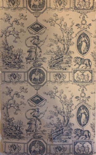 Beautiful 19th Century French Neo Classic Wallpaper (2904)