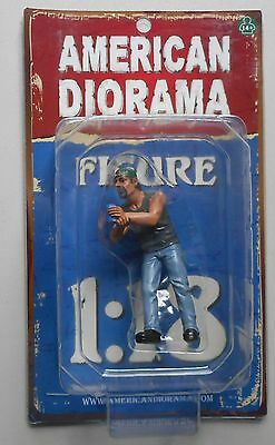"BILLY HANGING OUT AMERICAN DIORAMA 1:18 Scale Figurine 4"" Male Man Figure"