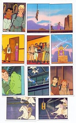 Panini Standard unpeeled Set The Real Ghostbusters  No's 1-240