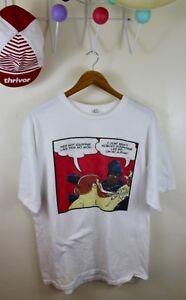 Action Bronson Ghostface Killah Shirt XL Mr. Wonderful Blue Chips Hip Hop