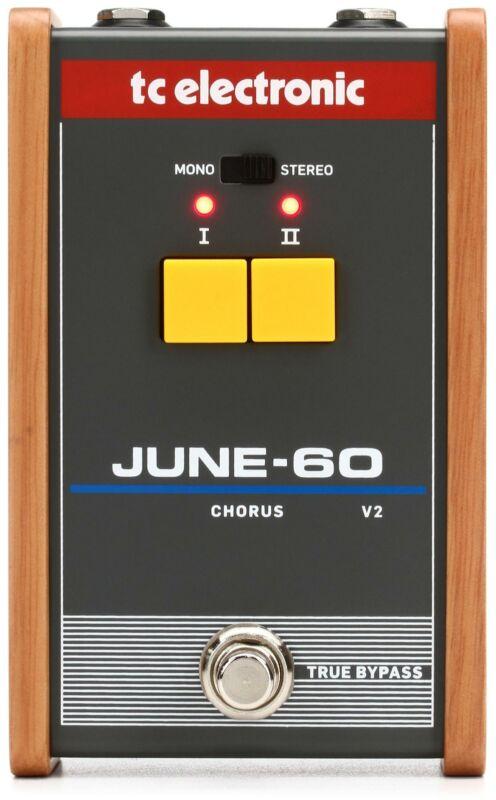 TC Electronic June-60v2 Vintage-Analog Chorus Pedal