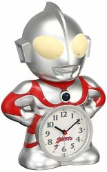 SEIKO Cock Ultraman character type Talking Alarm Clock JF336A From Japan F/S