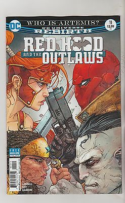 DC COMICS RED HOOD AND THE OUTLAWS #11 JULY 2017 REBIRTH 1ST PRINT