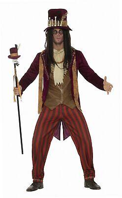 Smiffys 46875L - Herren Deluxe Voodoo Hexen Doktor Kostüm, Hose, Jacke,...