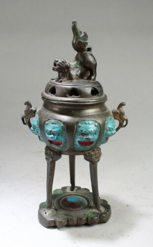 Antique Bronze Incense Burner