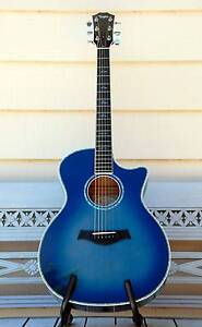 TAYLOR 614CE-L2 { Ultra Rare } Blue Acoustic/Electric Guitar Currumbin Waters Gold Coast South Preview