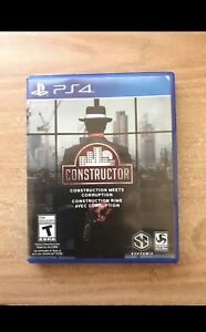 Selling Constructor for PS4
