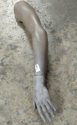 Used Mn-rsm-d Male Mannequin Left Arm And Hand Surplus Parts Brown Mondo