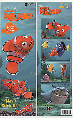 Finding Nemo Stickers Decals Movie Clown Fish Self Stick Wall Art Decor Bathroom