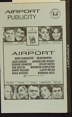 AIRPORT & AIRPORT 77 - Disasters in the air COMBO of original collector items