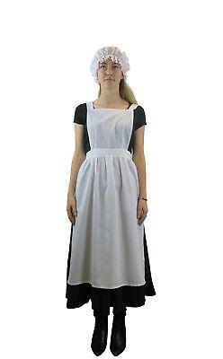 Damen Viktorianisch Edwardianisch Schürze Dienstmädchen Maskenkostüm - Edwardian Kostüme