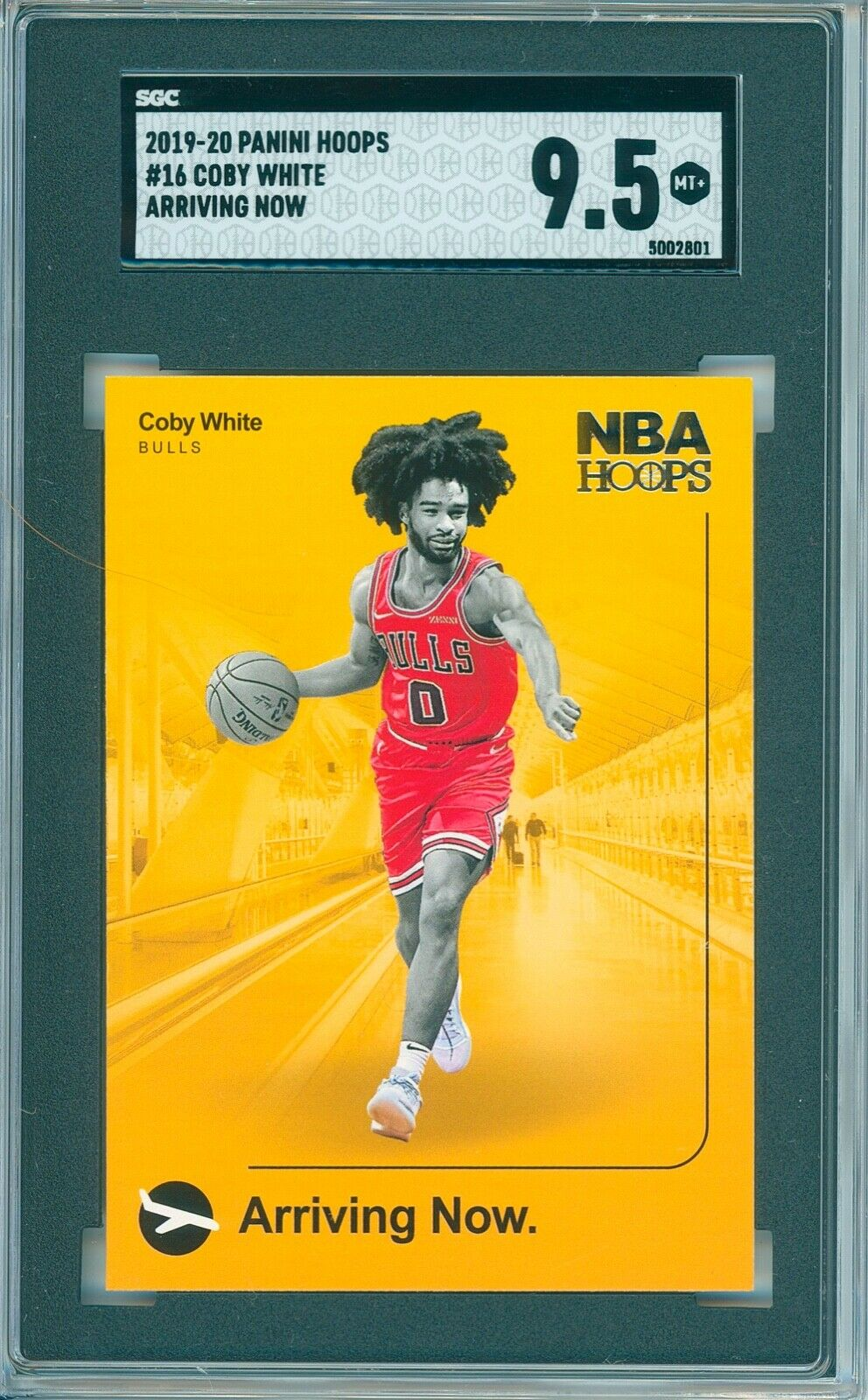 COBY WHITE 2019-20 PANINI HOOPS 16 ARRIVING NOW SGC 9. MINT COMP PSA/BGS 01 - $1.25