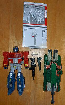 Transformers Classics Optimus Prime Megatron Ultimate Battle Deluxe Hasbro CHUG