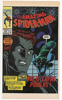 AMAZING SPIDER-MAN HALLOWEEN SPECIAL ED. 1993 Promo Mark Bagley Tom DeFalco (Halloween Special Promo)