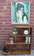 Book Shelf Retro Vintage Art Deco in Solid Oak Wantirna South Knox Area Preview