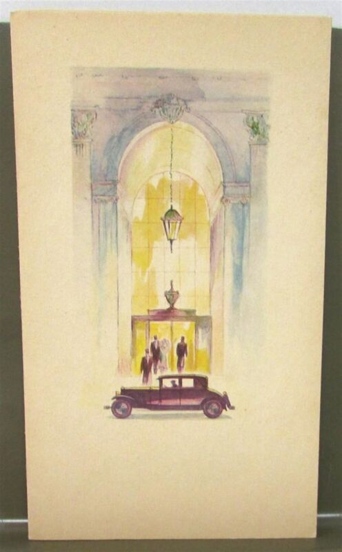 1920s 1930s Cadillac La Salle Agleam Themed Dealer Brochure Original