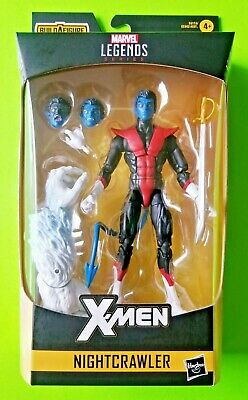 "Marvel Legends X-Men Nightcrawler Wendigo BAF Wave 6"" Action Figure - NEW"