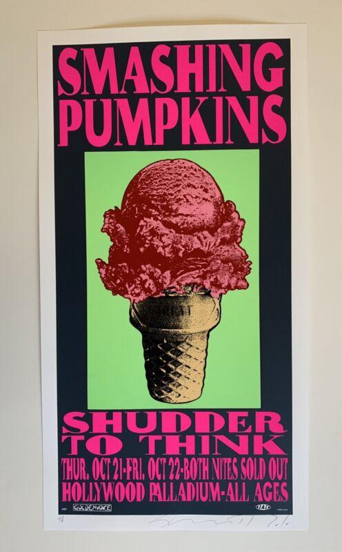 Taz Smashing Pumpkins Original Rock Concert Poster