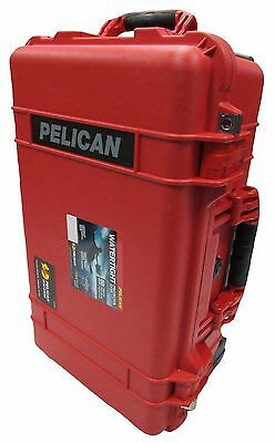 "Pelican ""Colors"" Series Red Pelican 1510 NO foam."