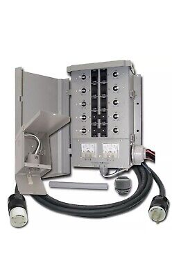 Egs107501g2kit Connecticut Electric Emergen Circuit M Transfer Switch 30a New