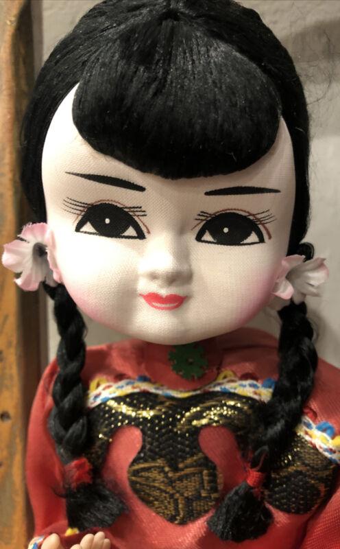 Estate Vintage Haunted Doll Jade