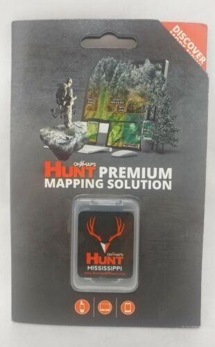 onXmaps HUNT GPS Chip for Garmin Units + 1-Year Premium Membership, Mississippi