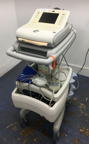 Philips Cardio Dynamics Bioz DX ECG w/ Stand & Accessories