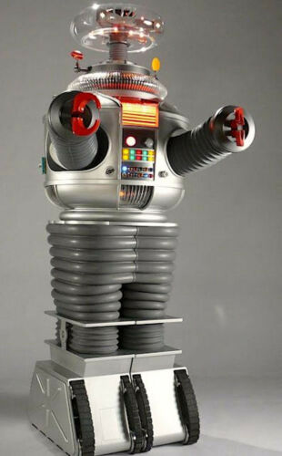 1965's LOST IN SPACE Robot full-length color 6x10 portrait