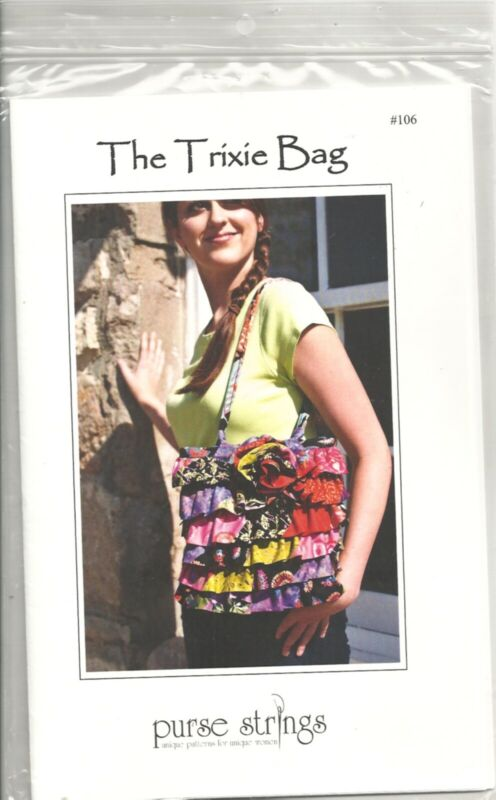 PURSE STRINGS #106 THE TRIXI BAG SEWING PATTERN OOP