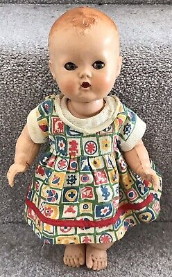 Vintage 1950's BND London Babykins Hard Plastic Doll