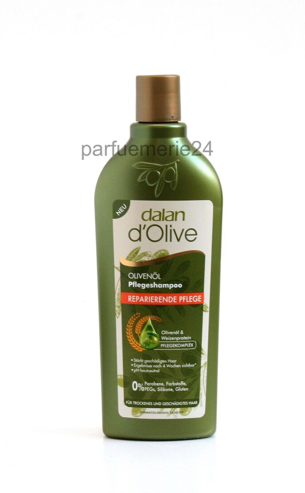 dalan d'Olive Olivenöl Pflege Shampoo Reparierende Pflege 400 ml