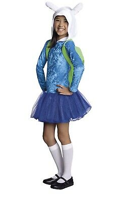 Adventure Time Fionna Hoodie Dress Child - Fionna Adventure Time Halloween Costume