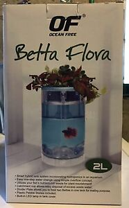 Betta Flora 2L Fish Tank - Opened Box Ascot Brisbane North East Preview