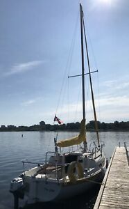 Tanzer 22 Sailboat, 1980, with outboard engine and trailer