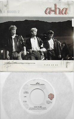A-HA  Take On Me / Love Is Reason  original 45 with Picture Sleeve