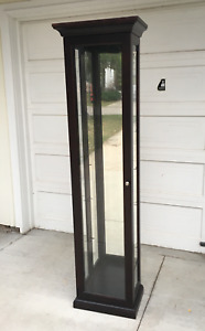 Buhler Furniture Display Cabinet with Glass Shelves