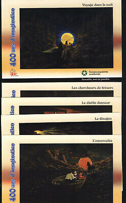 Canada 5 Mint Postal Cards Rare - Acadia 400 years...See 11 scans