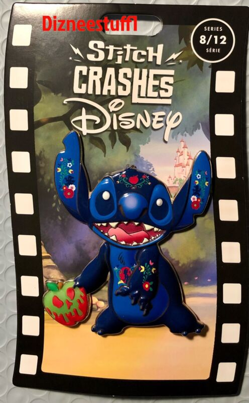 Disney Pin Stitch Crashes Snow White Limited Release pin