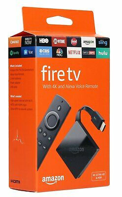 Amazon Fire TV with 4K Ultra HD & Alexa Voice Remote HD & HDR 3rd Gen BRAND NEW™