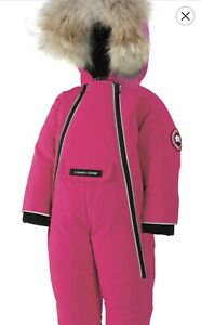 Canada goose baby snowsuit 6-12 brand new with tag