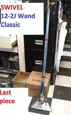Carpet Clean Wand 12 2-jet 1.5 Tube S-bend Truckmount Portable Swivel