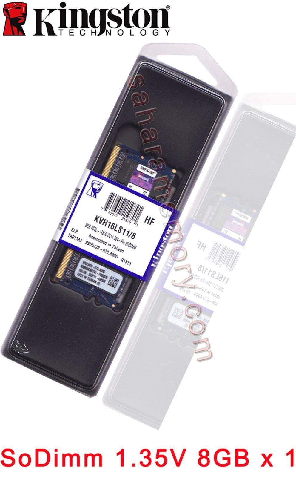 Kingston Technology 8GB 1600MHz DDR3L  1.35V Non-ECC CL11 SO